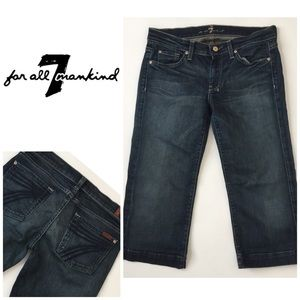 7 For All Mankind Cropped Dojo👖